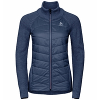 Midlayer X-POD FAN da donna, diving navy - formula one, large
