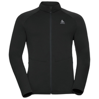 Midlayer full zip SNOWBIRD, black, large