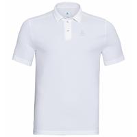 Men's PETER Polo Shirt, white, large
