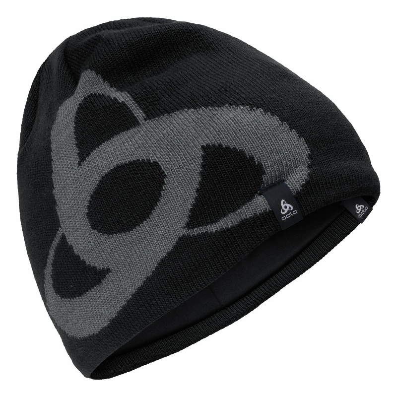 CERAMWARM PRO MID GAGE-muts, black - odlo steel grey, large
