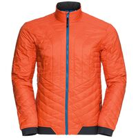 Jacket COCOON S Zip IN, orangeade, large