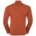 Men's SIERRA Midlayer, orangeade, large