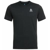 Men's ZEROWEIGHT CHILL-TEC Running T-Shirt, black, large