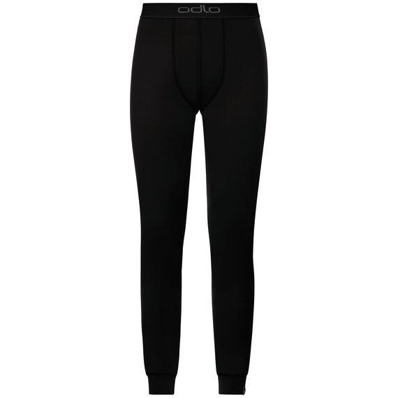 Natural 100 Merino Warm baselayer pants men, black - black, large