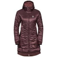 COCOON S-THERMIC-parka voor dames, decadent chocolate, large