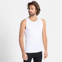 Men's ACTIVE F-DRY LIGHT Base Layer Singlet, white, large