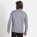 Men's PILLON 1/2 Zip Midlayer, grey melange, large