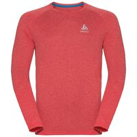 BL Top Crew neck l/s AION, fiery red melange, large