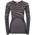 Damen BLACKCOMB Funktionsunterwäsche Langarm-Shirt, odyssey gray - mesa rose, large