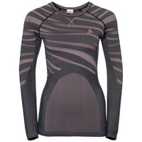 SUW Top PERFORMANCE BLACKCOMB langärmeliges Oberteil mit Rundhalsausschnitt, odyssey gray - mesa rose, large