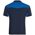 Polo s/s SAIKAI CERAMICOOL, diving navy - energy blue, large