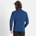Veste intermédiaire CARVE CERAMIWARM pour homme, estate blue, large