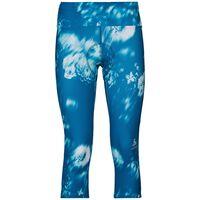 Tights 3/4 FUJIN PRINT, mykonos blue - AOP SS19, large