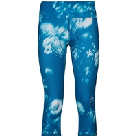 Tight 3/4 Fujin Print, mykonos blue - AOP SS19, large
