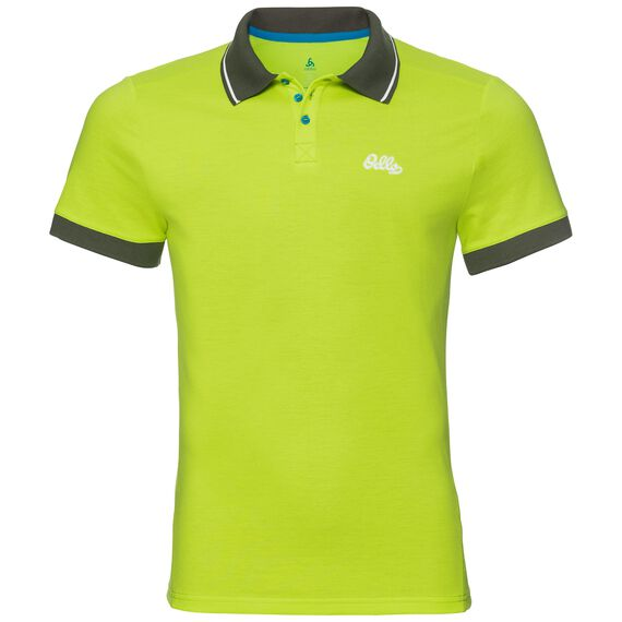 Polo s/s NIKKO, acid lime, large
