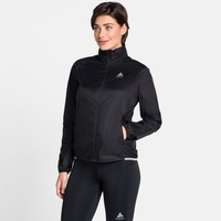 Women's ZEROWEIGHT DUAL DRY Water Resistant Jacket, black, large