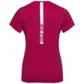 Women's ELEMENT Light PRINT T-Shirt, cerise - placed print FW19, large