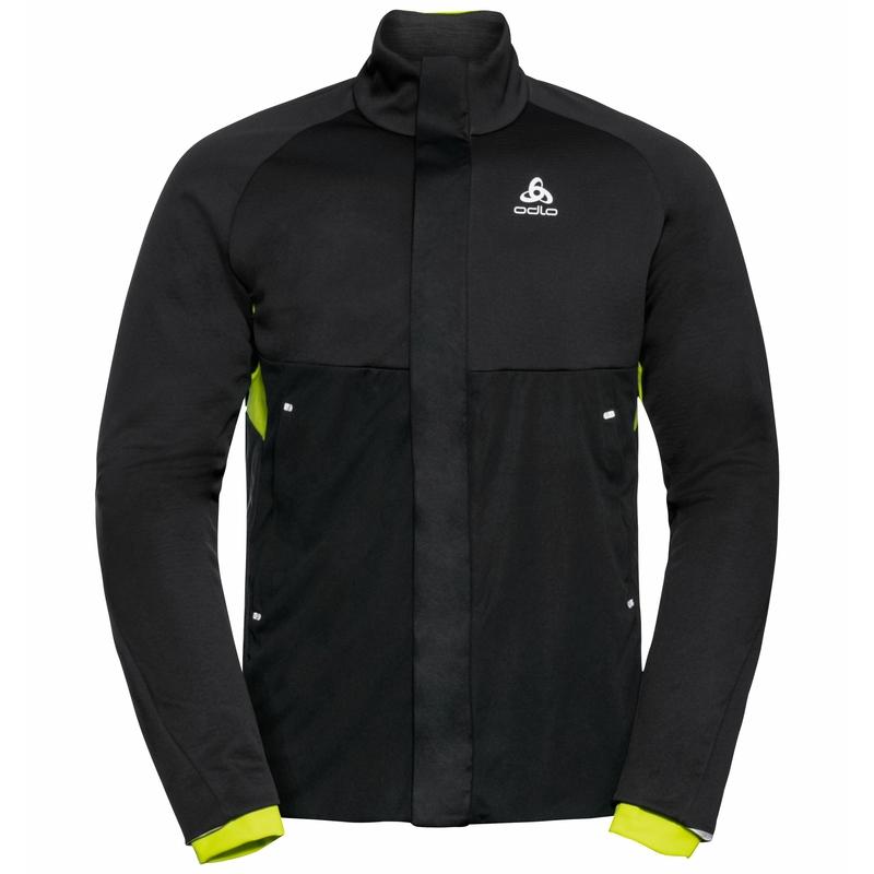 The Silsand jacket, black - evening primrose, large