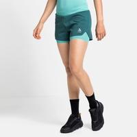 Damen ZEROWEIGHT 2-in-1 Shorts, balsam - jaded, large