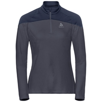 Midlayer 1/2 zip CorE LIGHT, odyssey gray - diving navy, large