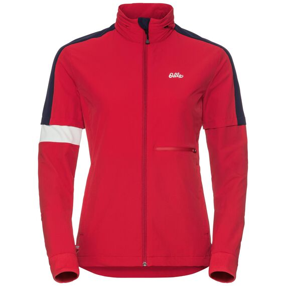 Jacket ANETTE, chinese red, large