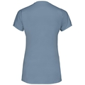 Women's FLI T-Shirt, faded denim, large