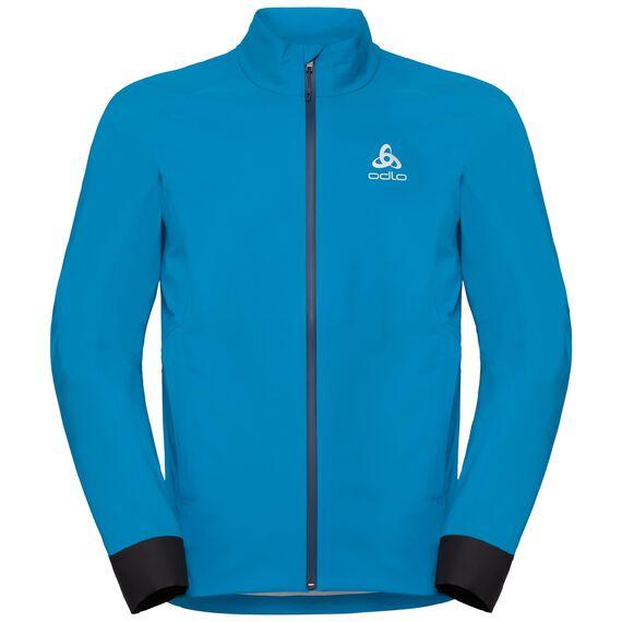 Jacket MORZINE RAIN Light, blue jewel, large