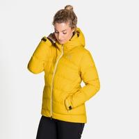 SKI COCOON-jas voor dames, sulphur, large