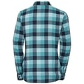 Camicia manica lunga Kumano Check, blue radiance - baltic - diving navy - check, large