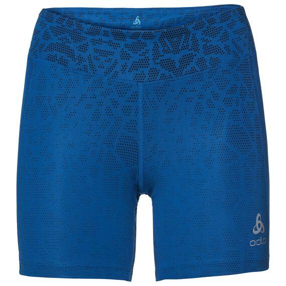 BL Bottom Short OMNIUS Print, diving navy - energy blue, large
