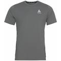 Men's ZEROWEIGHT CHILL-TEC Running T-Shirt, odlo steel grey, large