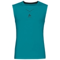 Débardeur baselayer CeramiCool homme, lake blue - black, large