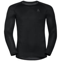 Men's ACTIVE F-DRY LIGHT Long-Sleeve Base Layer Top, black, large