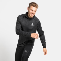 Men's MILLENNIUM ELEMENT Midlayer Hoody, black melange, large