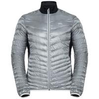 GREGOR COCOON isolierende Jacke, odlo silver grey - black, large