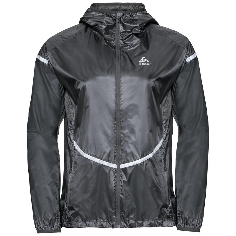 Women's ZEROWEIGHT PRO Jacket, odlo graphite grey, large