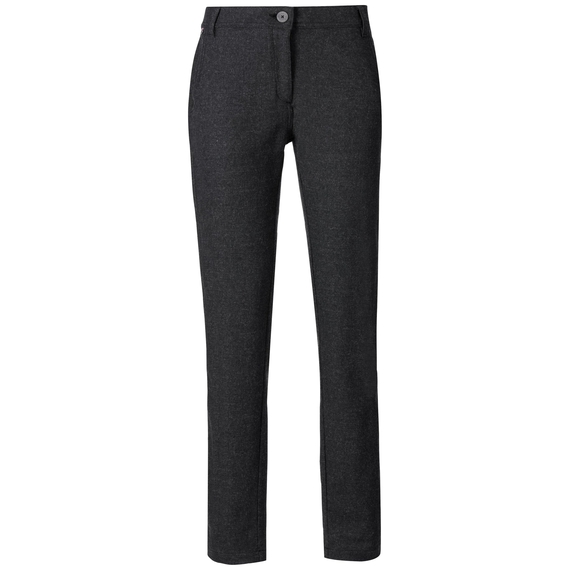 Pants JONDAL, black melange, large