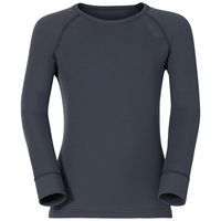 Maglia Base Layer a manica lunga ACTIVE WARM KIDS per bambini, india ink, large