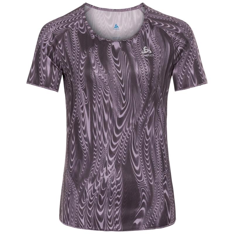 Women's MILLENNIUM ELEMENT PRINT T-Shirt, vintage violet - AOP FW18, large