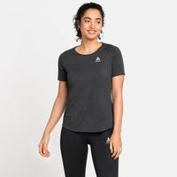 Women's RUN EASY 365 T-Shirt, black melange, large