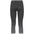 Bas BL 3/4 MAIA, odlo steel grey - black, large