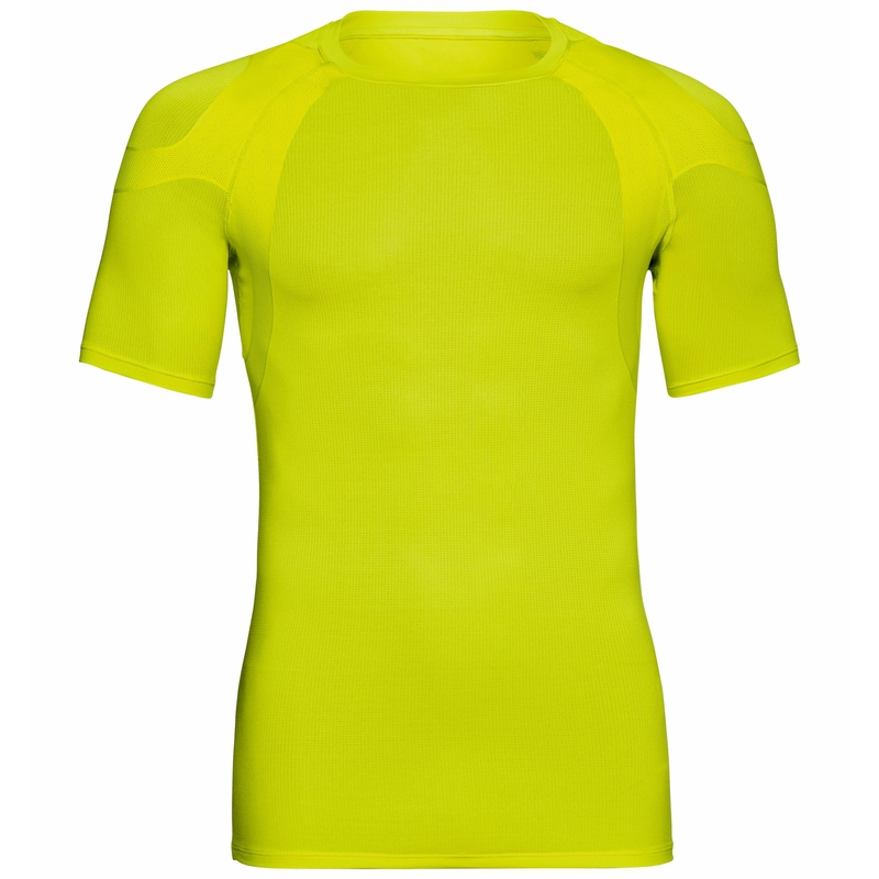 Men's ACTIVE SPINE 2.0 Running T-shirt, evening primrose, large
