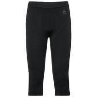 Pants 3/4 EVOLUTION WARM, black - odlo graphite grey, large