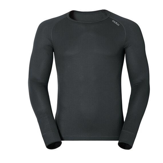 CUBIC Baselayer Shirt longsleeved, ebony grey - black, large