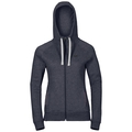 Hoody midlayer full zip SQUAMISH FW, peacoat melange, large