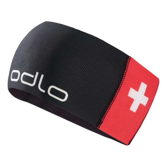 COMPETITION FAN WARM Headband, Swiss Fan with Swisscom 2010, large