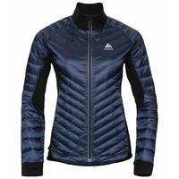 Women's COCOON N-THERMIC Light Insulated Jacket, diving navy - black, large