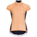 Women's DUAL DRY Cycling Vest, papaya - diving navy, large