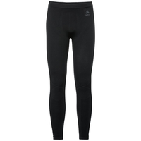 Pants EVOLUTION WARM, black - odlo graphite grey, large