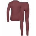 Completo intimo ACTIVE WARM ECO da donna, roan rouge, large